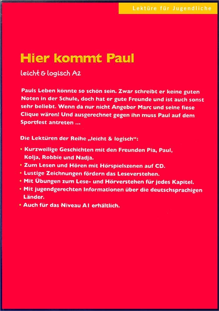 کتاب زبان آلمانی Hier kommt Paul