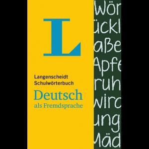 کتاب لغتنامه زبان آلمانی Langenscheidt Schulwörterbuch