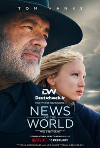 دانلود دوبله آلمانی فیلم News of the World 2020