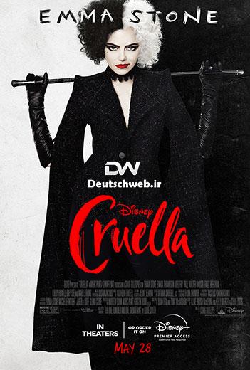 دانلود دوبله آلمانی فیلم Cruella 2021